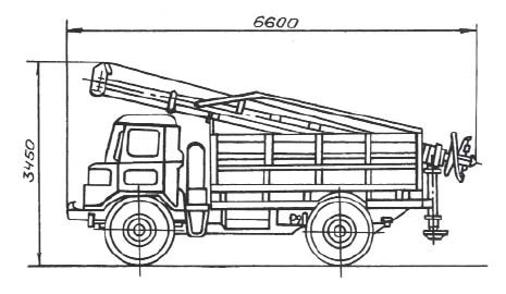 ямобур  ГАЗ-66 характеристики