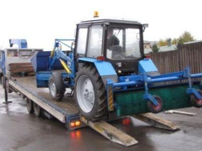 перевозка трактора