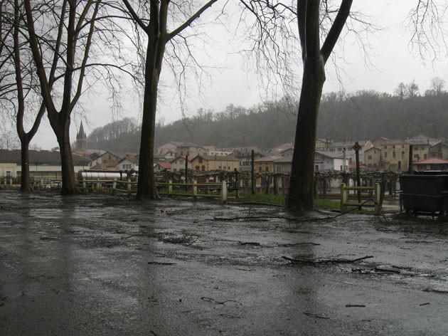La ville sous la bourrasque