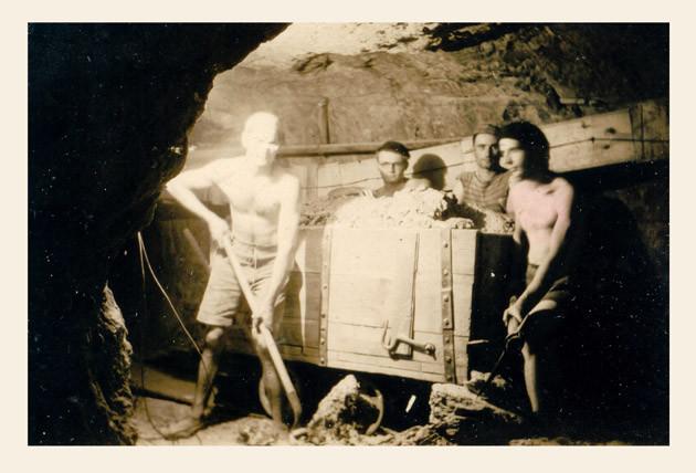 Au fond de la mine de St Lon pendant la Guerre 1939-1945