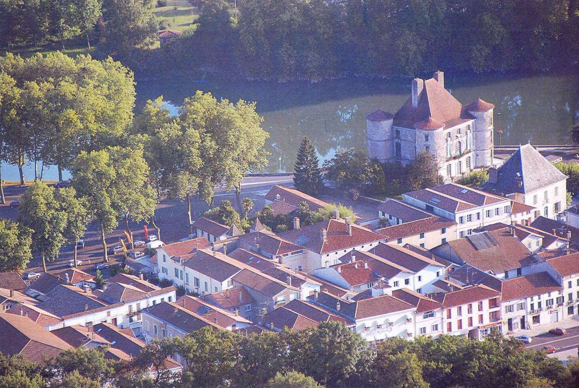 Peyrehorade 2 centrecultureldupaysdorthe - Ma maison vue du ciel ...
