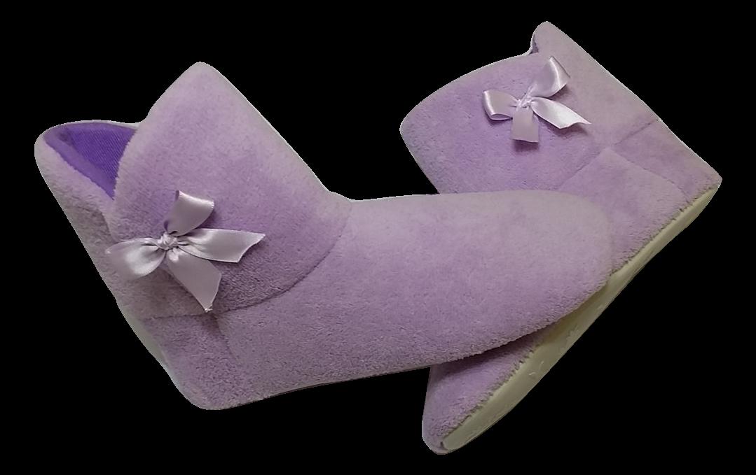 Nuevo Color Lila Pantuflas Maki