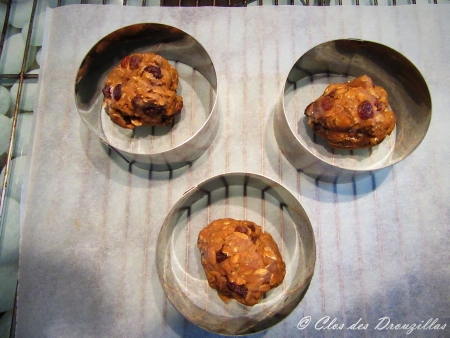 Boules épaisses avant cuisson