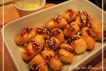 Pommes de terre rôties au zaatar