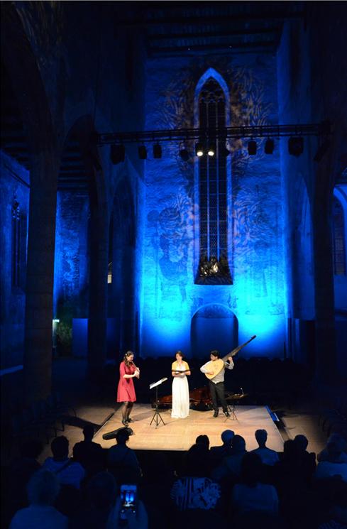 Concert in Guebwiller, 2012