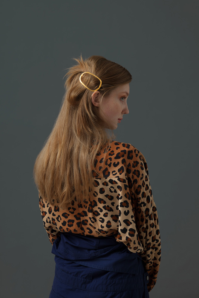CLINQ Edition #07: GINGER; contemporary hair jewelry; hair clips; barrettes
