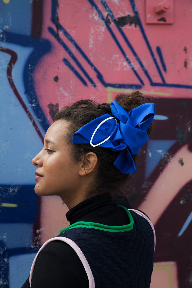 CLINQ Edition #08: NERI; contemporary hair jewelry; hair clips; barrettes