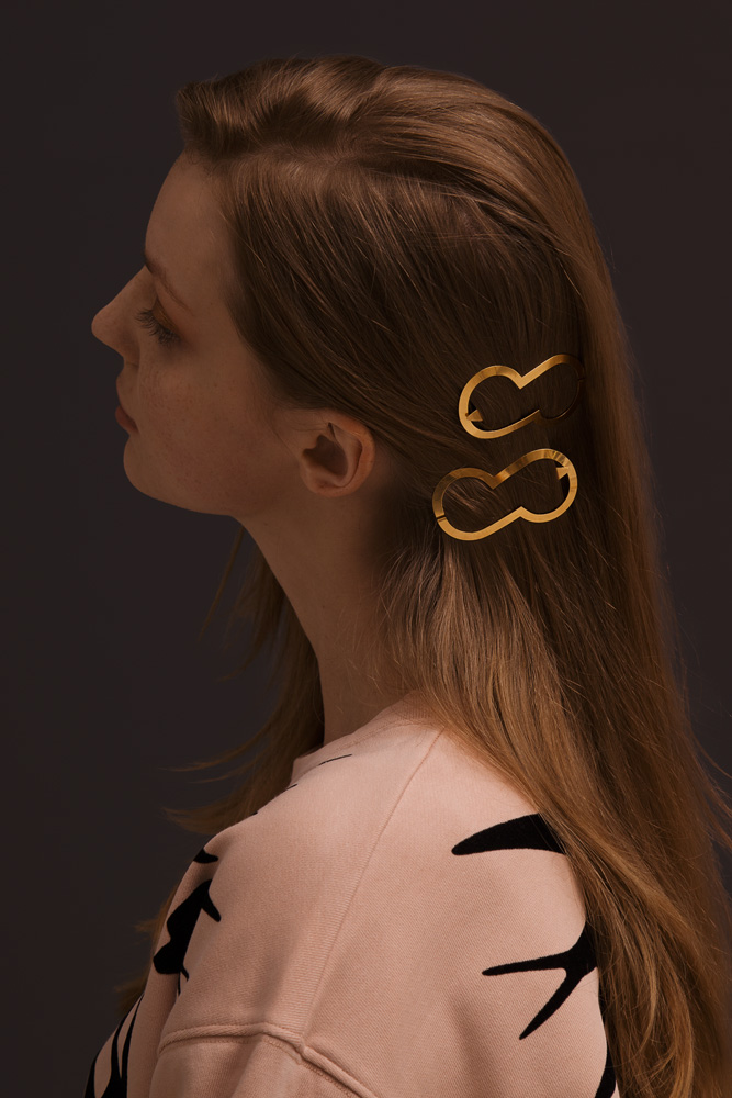 CLINQ Edition #08: JOCELYN; contemporary hair jewelry; hair clips; barrettes