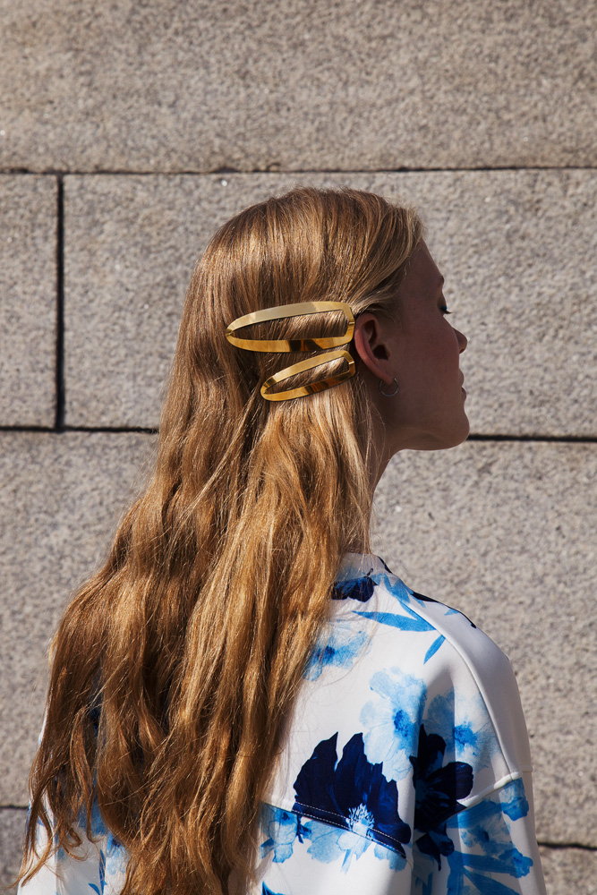 CLINQ Edition #06: BEA; contemporary hair jewelry; hair clips; barrettes