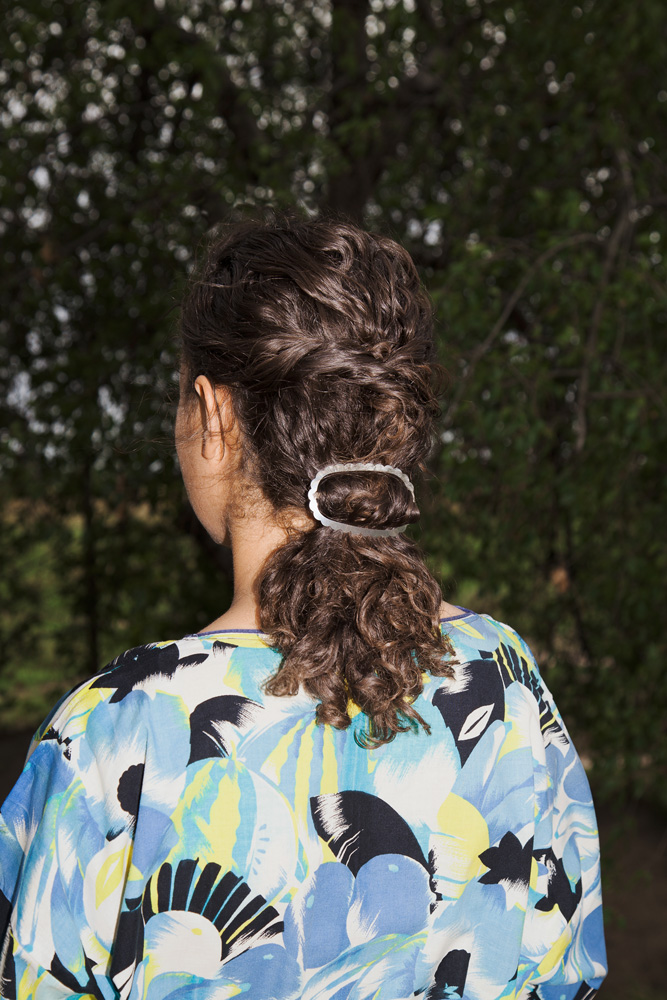 CLINQ Edition #08: NORA; contemporary hair jewelry; hair clips; barrettes