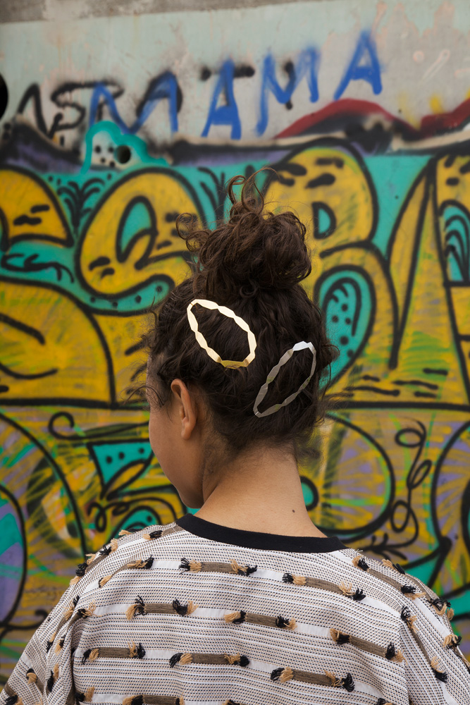CLINQ Edition #08: NADIA; contemporary hair jewelry; hair clips; barrettes