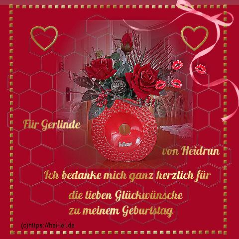 Herzlichen Gluckwunsch Zum Geburtstag Ulrike Poster Vicky