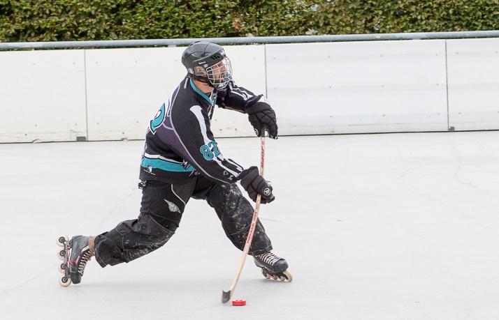 Der Mann, der schneller als sein Schatten skatet: Benjamin Groß. Foto: Lütge