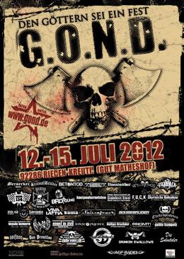 G.O.N.D. 2012