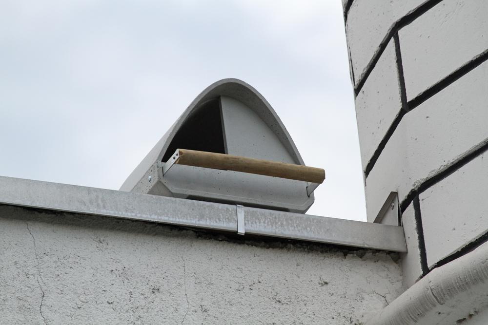 Ausreichender Wohnraum für eine Turmfalkenfamilie