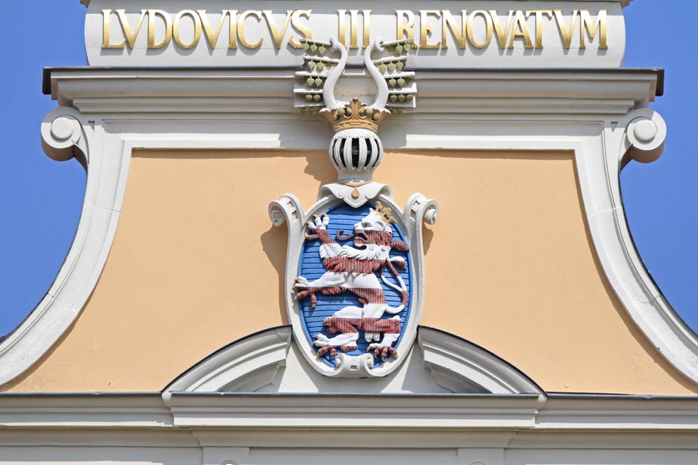 Wappen der Landgrafen Hessen-Darmstadt