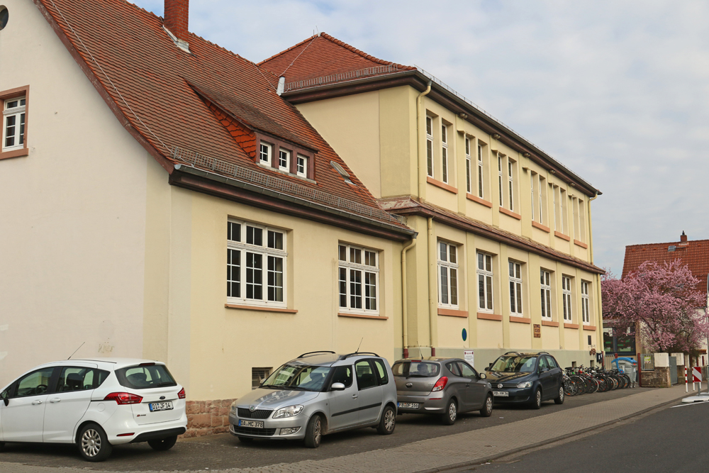 Außenfassade der Schule
