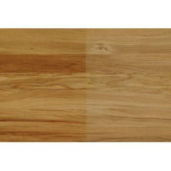 Wibeba Einschicht Massivholz Leimholz Platte Eiche Durchgehende