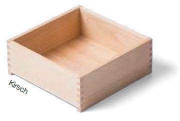 Kirsch Massivholz- Schublade nach Maß