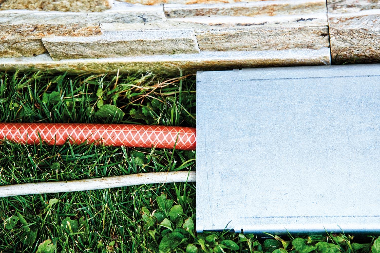 CLEVER BASIC Abdeckung Stromleitingen & Wasserschläuche