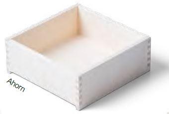 Ahorn Massivholz- Schublade nach Maß
