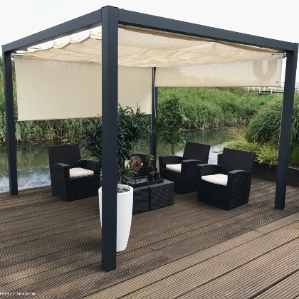 nesling pergola stand alone moso bambusparkett bambusplatten bambus x treme flexbamboo. Black Bedroom Furniture Sets. Home Design Ideas