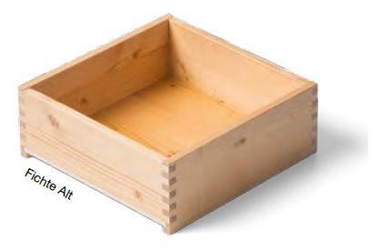 Fichte Alt Massivholz- Schublade nach Maß