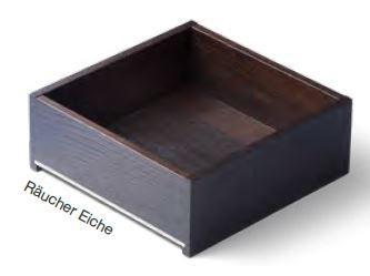 Räucher Eiche Massivholz- Schublade nach Maß