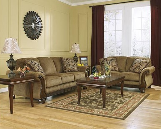 Sala Ashley Lansbury Sofa Love Seat Sillon Tela  BUDITASAN SHOP  Si