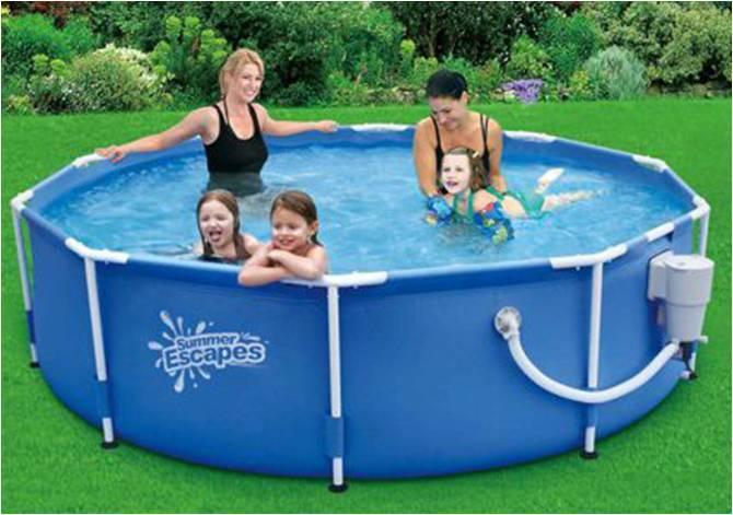 alberca piscina summer escapes 10pies por 30 pulgadas