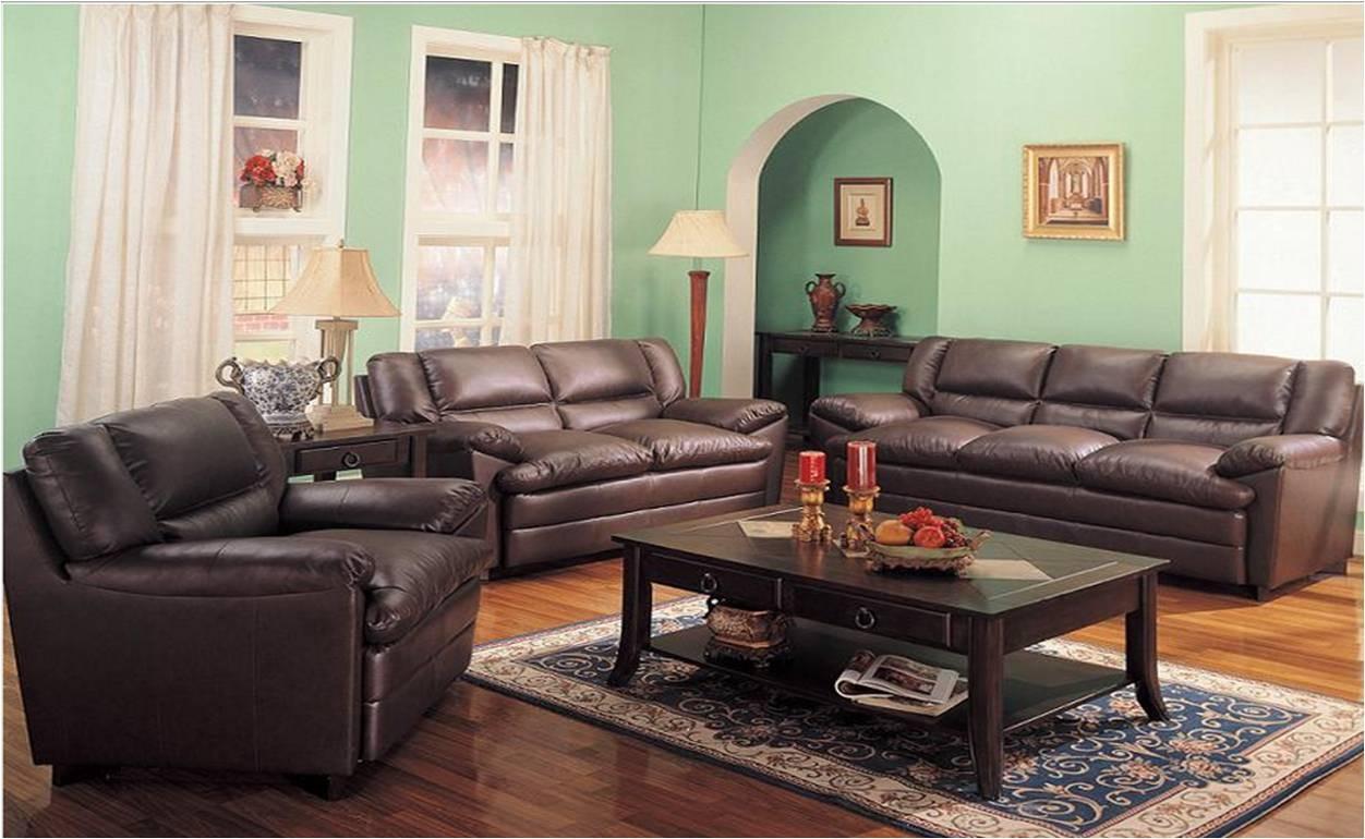 Sala 3 piezas sofa love seat y sillon en piel harper for Sillones para salas pequenas