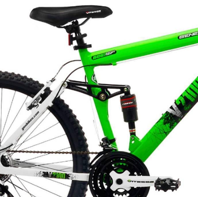 Bicicleta Hombre 26pulgadas Genesis V2100 Montaña Doble Suspension ...