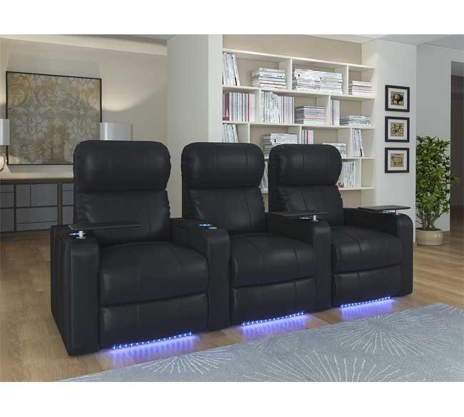 Sillon reclinable piel luz led octane turbo xl700 - Sillon reclinable piel ...