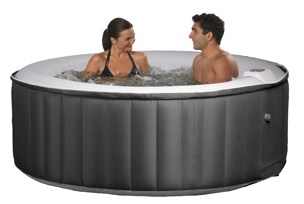 tina inflable hidromasaje swim time portable inflatable spa black gray buditasan shop si. Black Bedroom Furniture Sets. Home Design Ideas