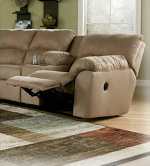 Sala de estar set de sofas 2 piezas microfibra mocha con - Sofas de microfibra ...