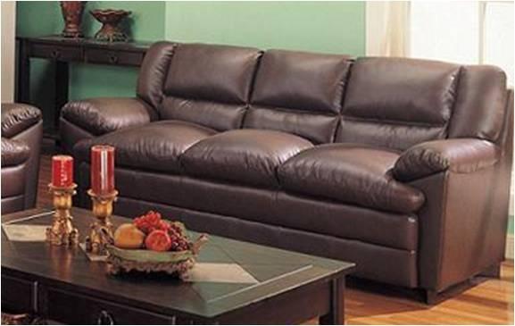 Sala 3 piezas sofa love seat y sillon en piel harper for Sofas y sillones a juego