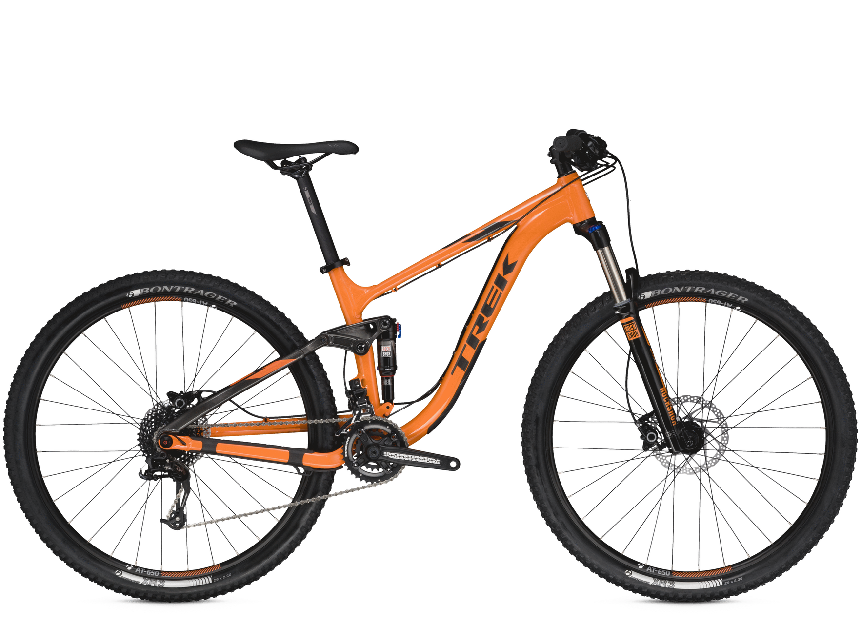 Bicicleta Montaña Trail TREK Rodado 29 Doble Suspension FUEL EX 5 29 ...