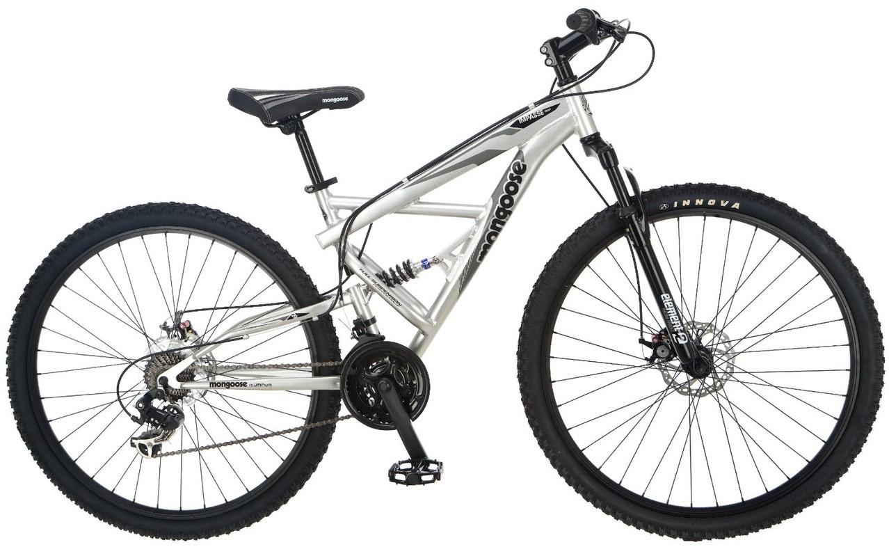 Bicicleta de Montaña Hombre Mongoose Doble Suspension Impasse Dual ...