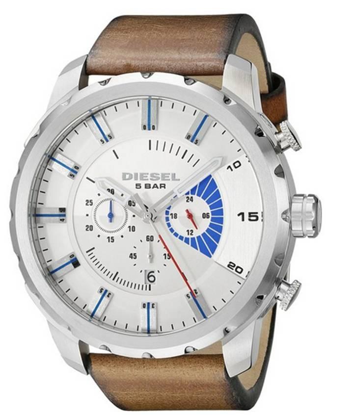 747bd177d307 Reloj Hombre Diesel Stronghold Cronografo Piel DZ4357 - BUDITASAN ...