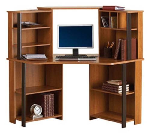 Escritorios para computadora de madera - Imagui