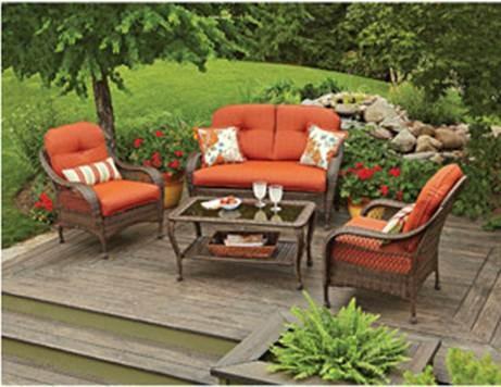 Image Result For Walmart Patio Furniture Conversation Sets