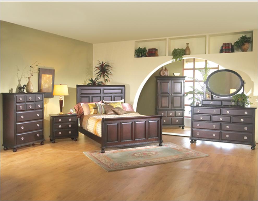 Master recamara moderna de madera queen de 6 piezas for Recamaras modernas con closet