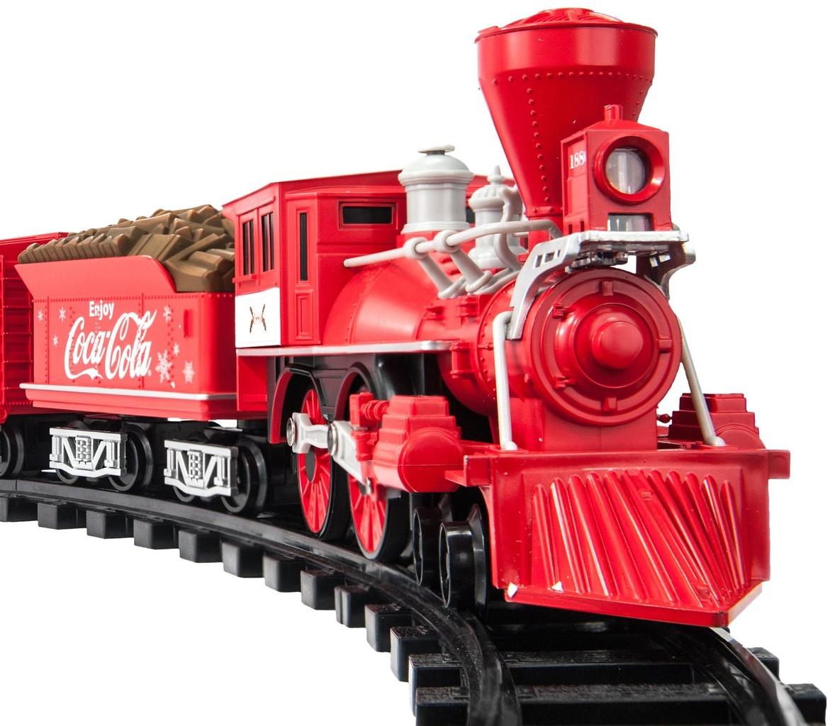Juguete Set De Tren Lionel Trains Coca Cola Holiday G