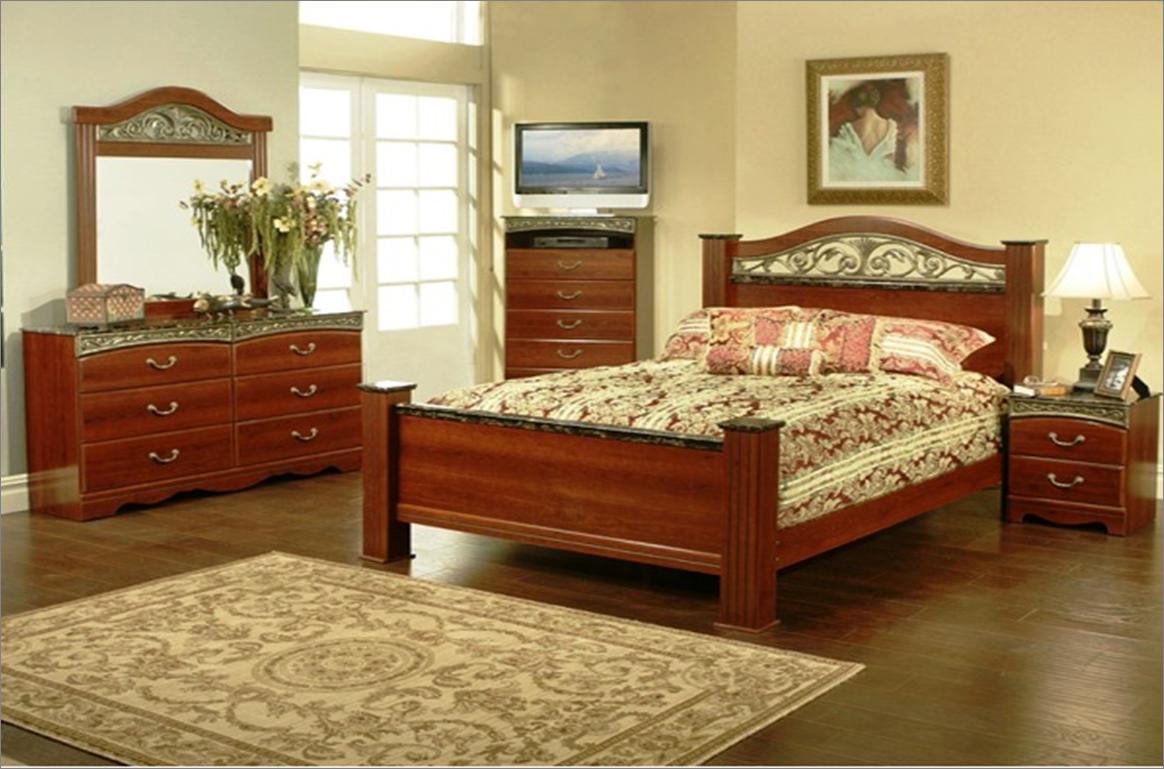 Wyatt Bedroom Set Durban Recamara Moderna De Madera Queen De 6 Piezas