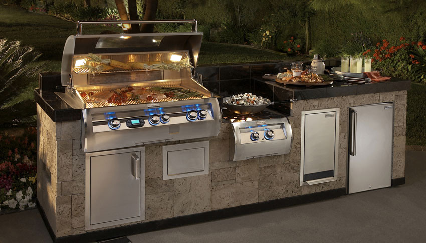 how to make an out side bbq kitchen