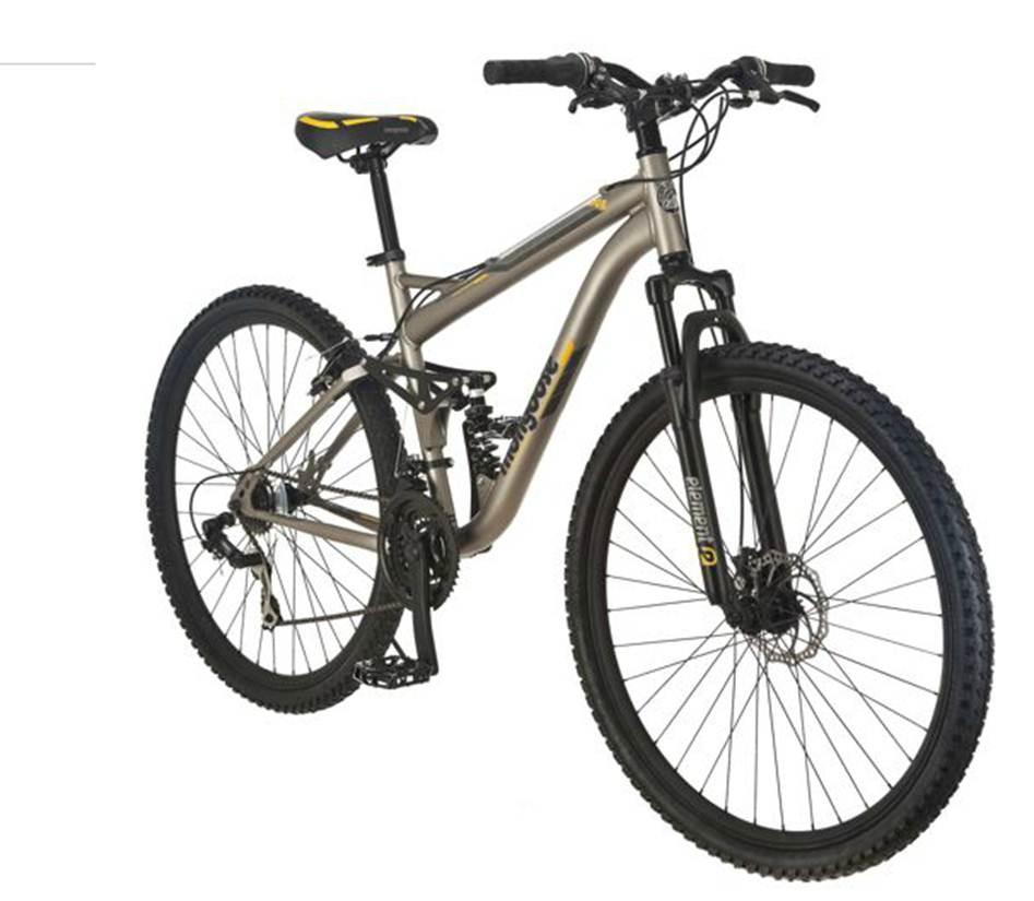 mongoose mountain bikes walmart