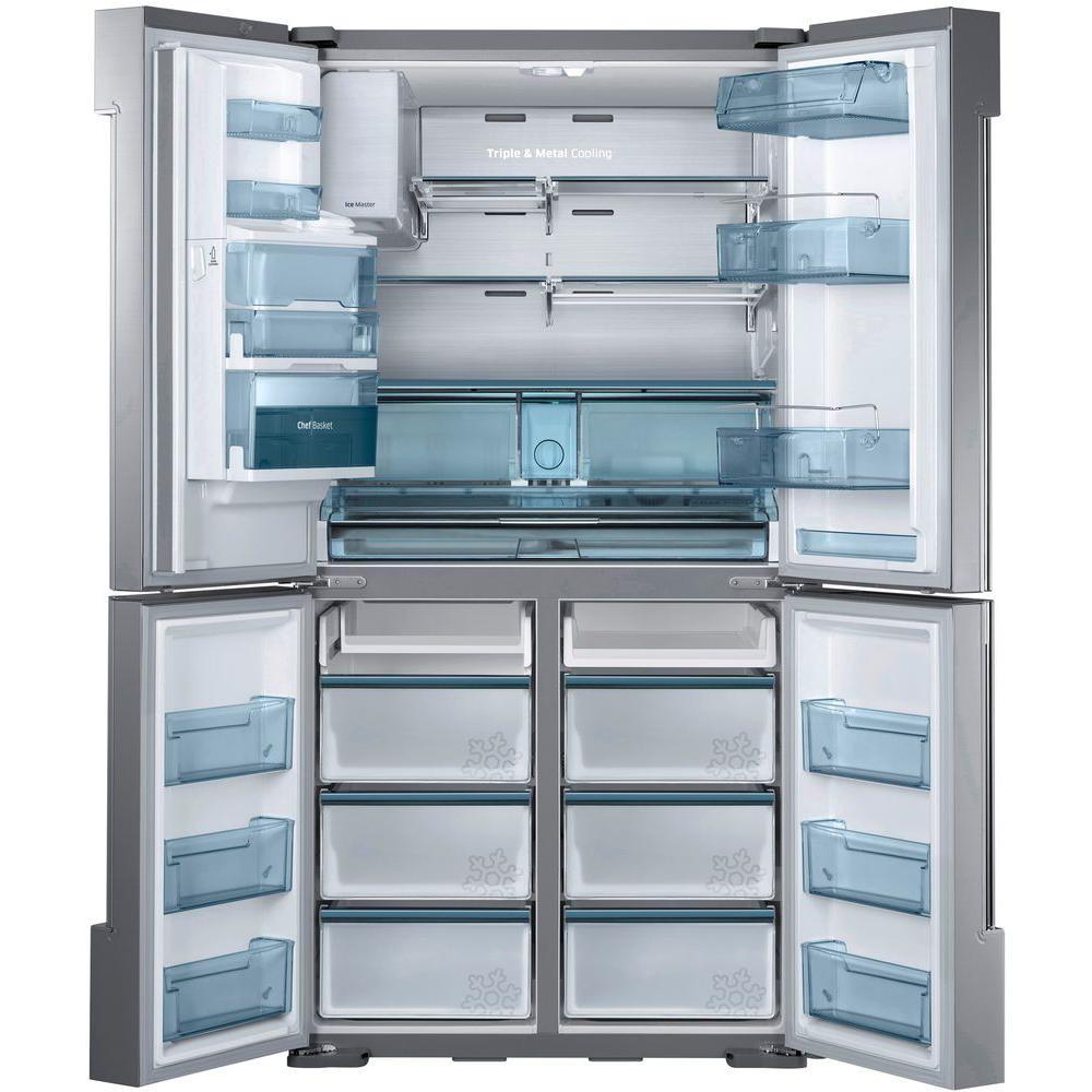Refrigerador 4 Puertas Francesa Samsung 34 3 Pies Acero