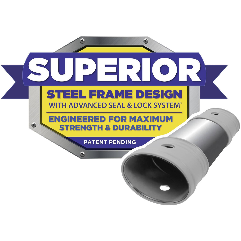 Alberca Coleman Power Steel 18 pies x 48 pulgadas con armazón 90323 ...