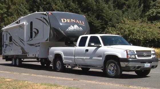 truck mit 5th wheel in kanada mieten bei kanada campers. Black Bedroom Furniture Sets. Home Design Ideas
