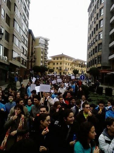 La juventud por Asturies Occidental